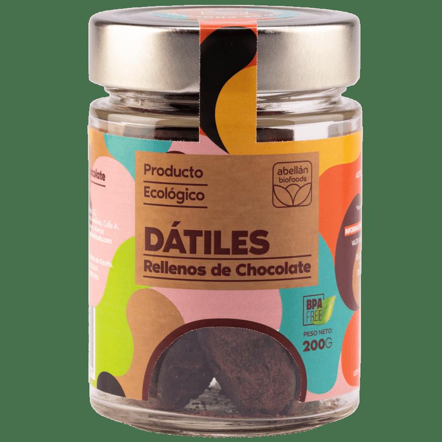 Dátiles con chocolate