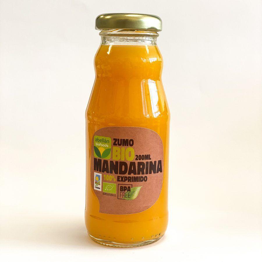 Zumo de mandarina
