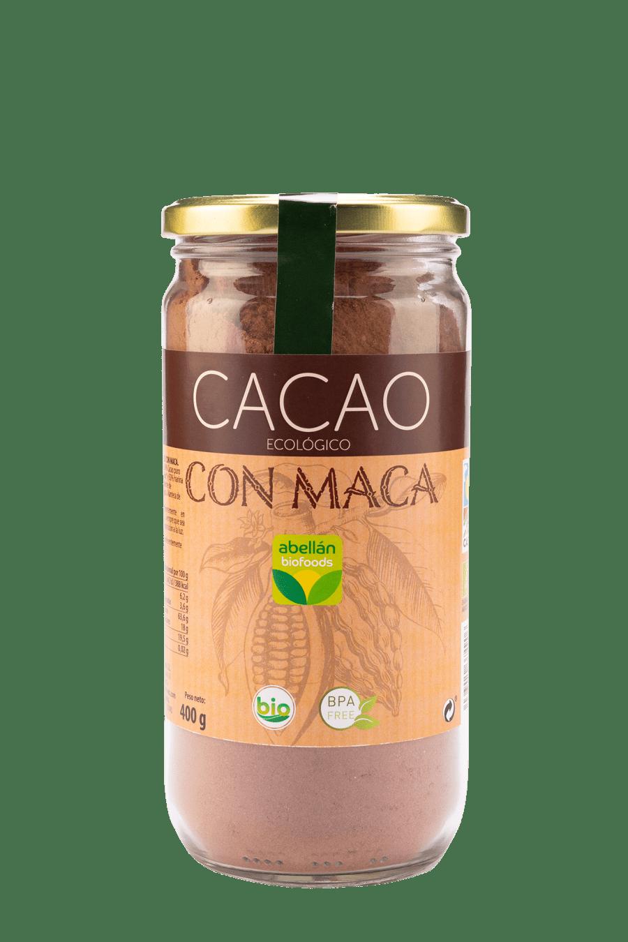 Cacao con maca