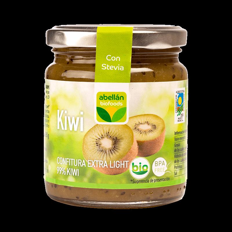 Mermelada de kiwi con stevia