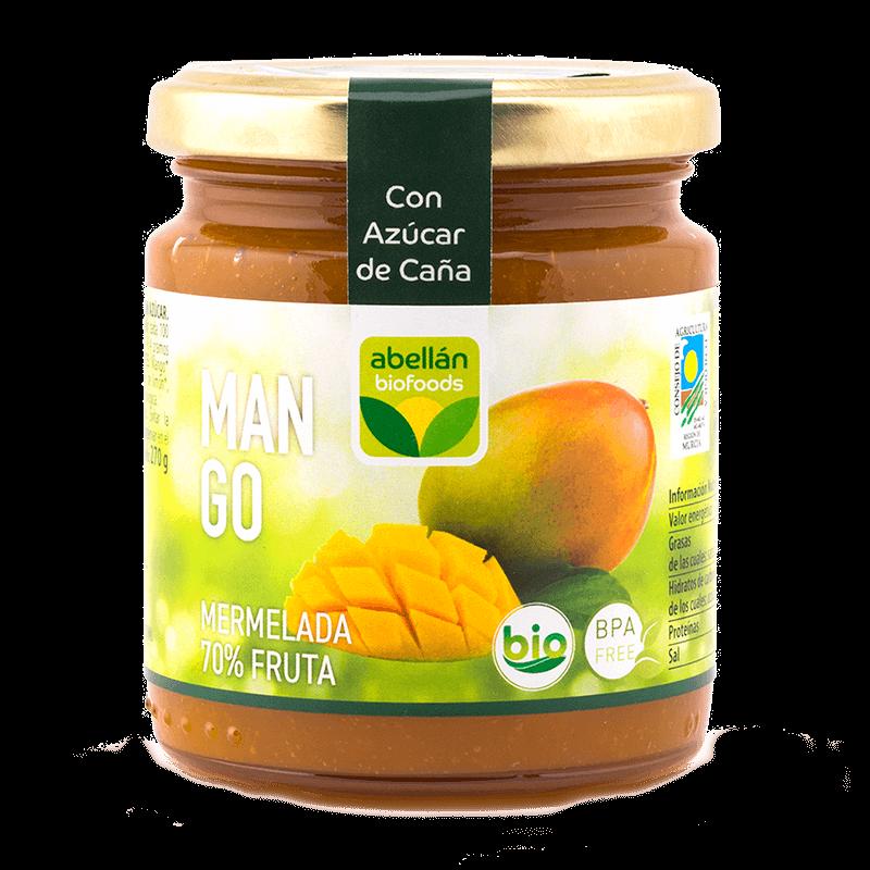 Mermelada de mango con azúcar de caña