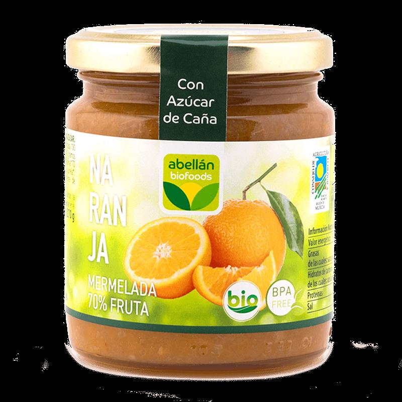 Mermelada de naranja con azúcar de caña