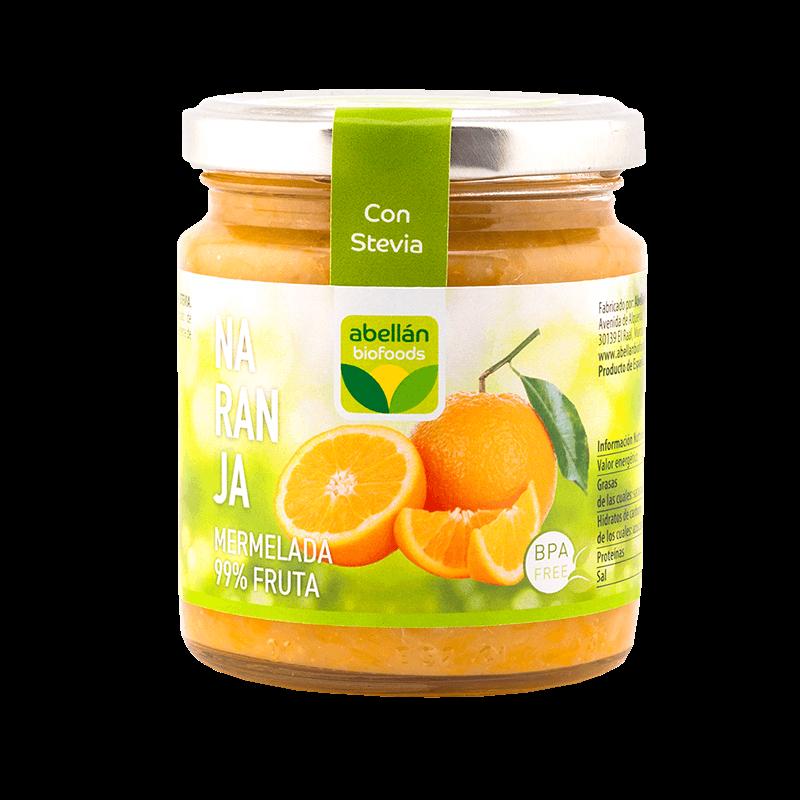 Mermelada de naranja con stevia
