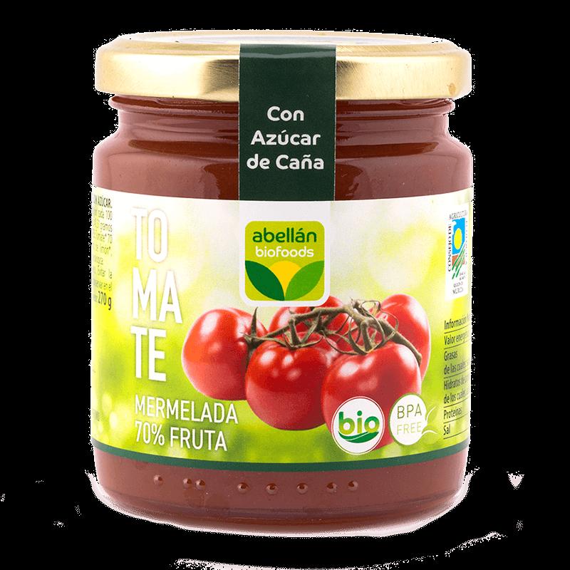 Mermelada de tomate con azúcar de caña
