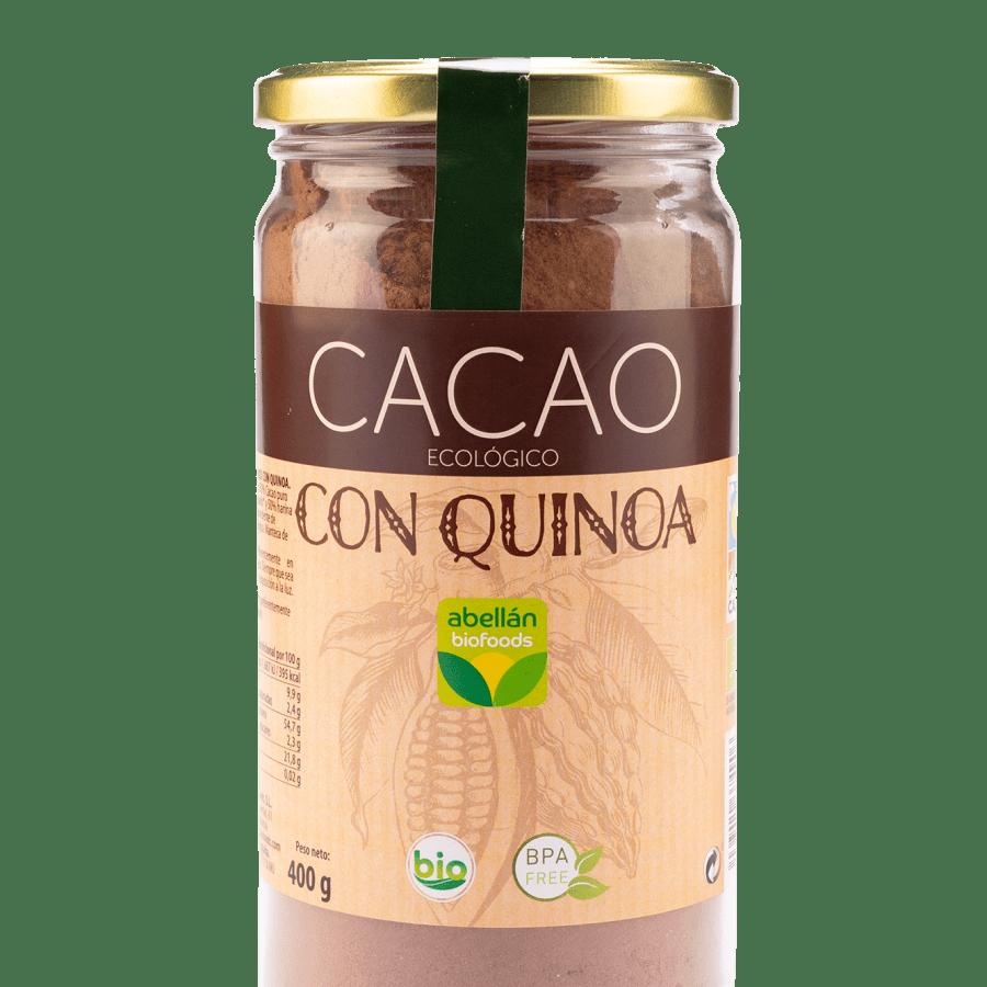Cacao con quinoa