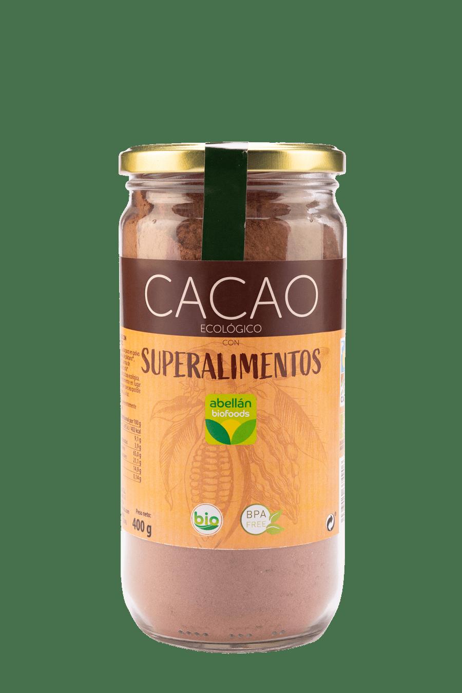 Cacao con superalimentos